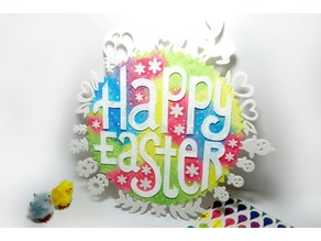 Happy Easter decor
