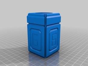"Modular Okular Box for ""Blue edges"" Okular 6mm"
