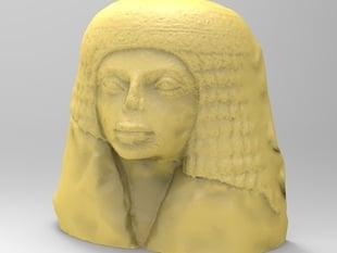 Statue of a Woman. Egyptian, New Kingdom, ca. 1550 B.C.-1070 B.C.