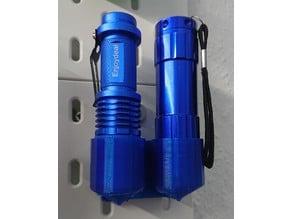 Skadis Halter für LED-Taschenlampen