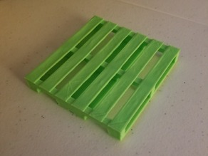 Pallet for toy fork truck