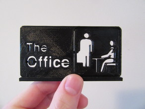 The Office sign/logo