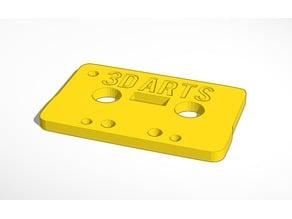 Cassette Key chain 65x42x4mm