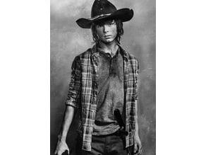 Carl Grimes Lithophane The Walking Dead