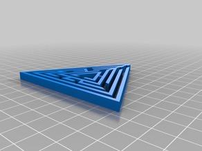 My Customized Random maze triangle generator