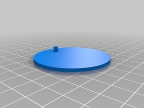 Customizable Action Figure Display Base