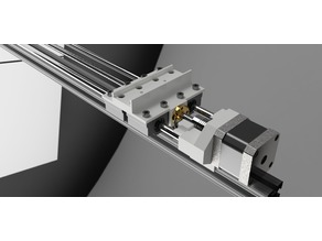 Linear Double Screw Rail (1010)