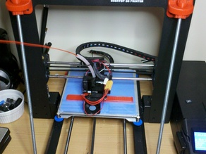 Z braces for Wanhao Duplicator i3, Cocoon Create, Maker Select, and Malyan M150 i3 3D printers.
