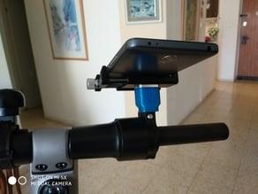 GUB Phone holder extender for Segway ES1/ES2