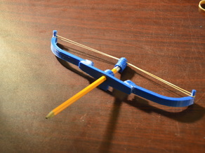 Rubber-Band Bow and Arrow