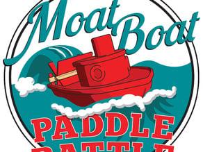 Moat Boat Paddle Battle