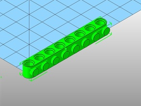 OpenScad Technic Blocks and Specials