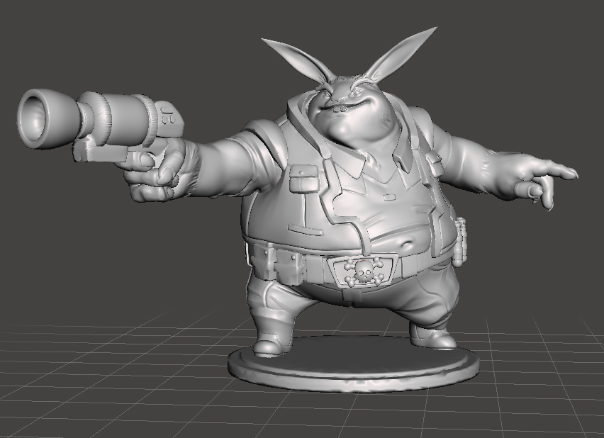 Space Pirate Wombat by rondocbondoc - Thingiverse