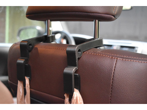 Car seatback bag hooks, 4Runner