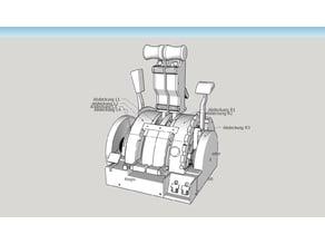 737 Throttle quadrant