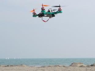 microX20 3D printed Quadrocopter