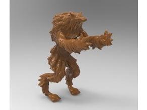 Howling werewolf (or Ralph)