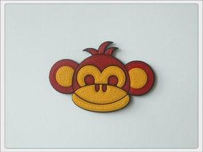 "Magnet ""Monkey Boy"""