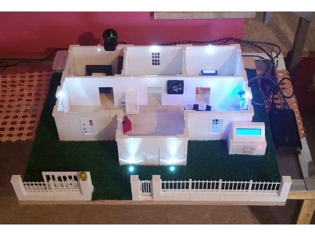 Casa domotica stampata in d con arduino progetti arduino