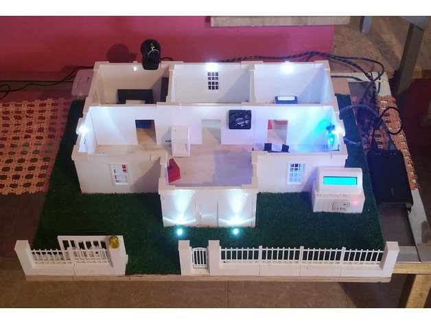 Home automation casa domotica con arduino by