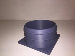 80mm Fan to 3 in Tube Adapter