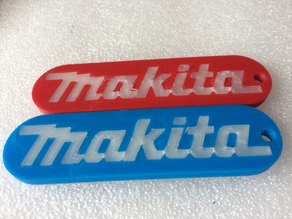Makita Key Tag