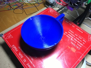 Customizable measuring cups (OpenSCAD)