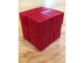 Building Blocks of (a + b)^3
