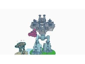 Giant Robot Boxy Pattern