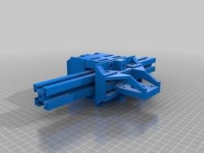 Alumunium profile 3030 Carriage slider