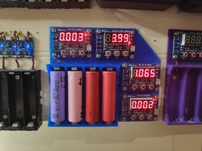 custom base for testing 4x18650 + 4xZB2L3