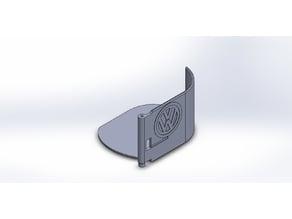 Cup holder for VW T5 Caravelle Ashtray left