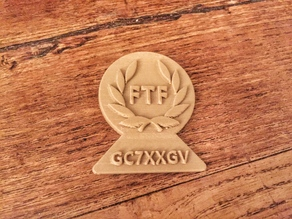 Customizable FTF geocoin