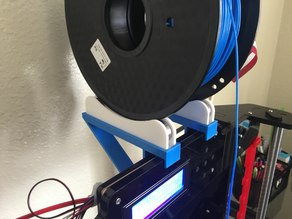 The Ultimate Anet A8 Top Spool Shelf