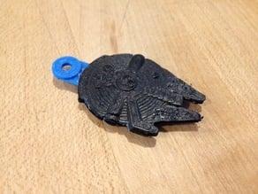 Millennium Falcon Keychain