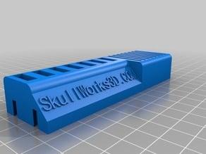 Skull Works USB stick and SD card holder