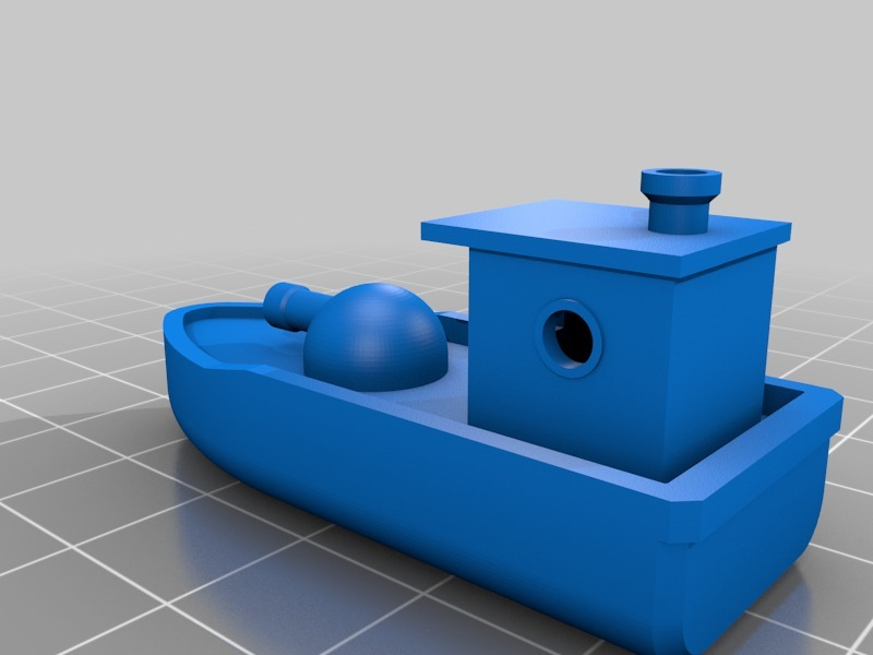 Cannon-Boat from Benchy Boat Wars