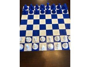 pokemon chess board
