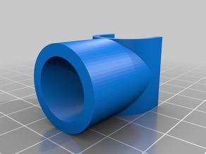 Spool holder for M3D printer (1/2 inch pex pipe)