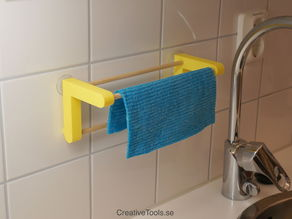 Dishcloth hanger (3D-printable)