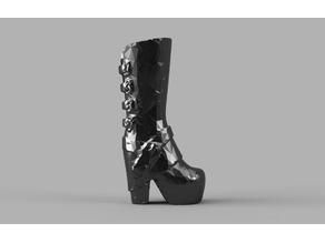 Barbie Heeled Glam Boot
