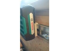 Bosch Battery 18V/36V Holder Rail/French Cleat