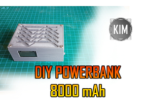 Small Powerbank 8000 mAh DIY