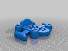 Spaceship for construction blocks