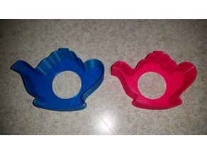 Teapot Cookie Cutter / Sandwich Cutter with sharper edges