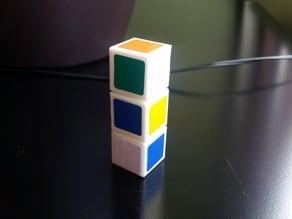 Rubik's Cuboid 1x1x3 - Print in place