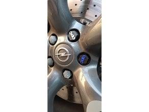 wheel nut cover OPEL OPC MMU