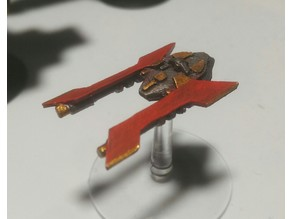 Battlefleet Gothic Rogue Trader Alien Frigate