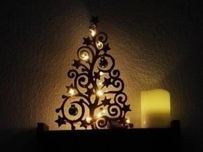Christmas tree with stars and balls :)