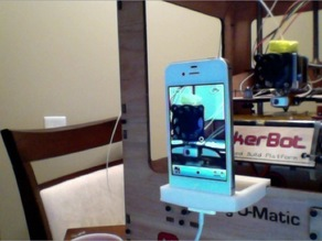 iPhone 4 MakerBot mount